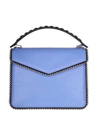 Les Petits Joueurs Hand Bag Pixie In Calf Leather Color Blue