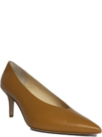 Fabio Rusconi Pump In Brown Leather