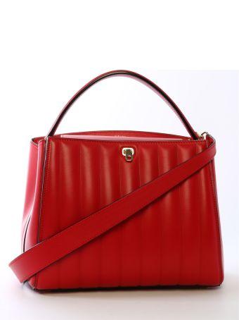 Valextra Brera Bag Medium Red