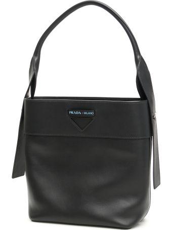 Prada Leather Ouverture Bag