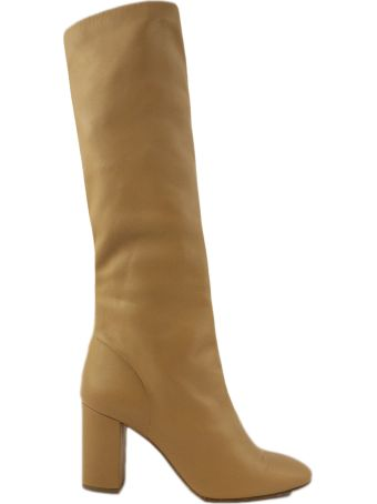 Aldo Castagna Brown Leather High Boots