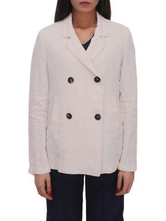 Massimo Alba White Hampton Jacket