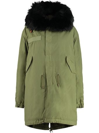 Mr & Mrs Italy Fur Hood Parka