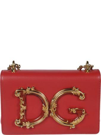 Dolce & Gabbana Baroque Dg Shoulder Bag
