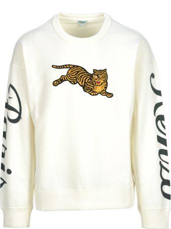 Kenzo Fleece Jumping Tiger