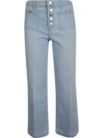 J Brand Multi-button Jeans