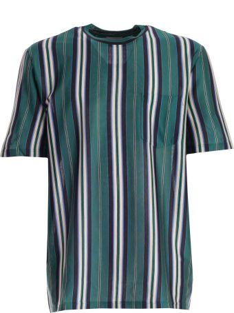 Lanvin Stripe Print T-shirt