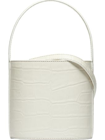 STAUD Embossed Bucket Bag