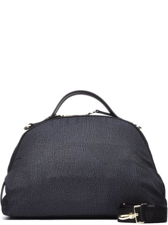 Borbonese Sexy Medium Black Bag