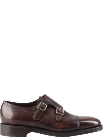 John Lobb Buckled Monk Shoes