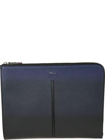 Dior Homme Leather Zip Around Wallet