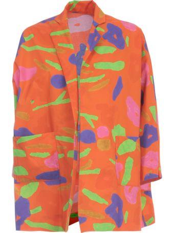 Daniela Gregis Cotton Jacket Revers Neck
