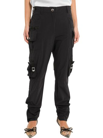 RED Valentino Techno Taffetà Cargo Trousers
