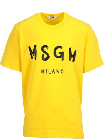 MSGM Tshirt Logo Macro