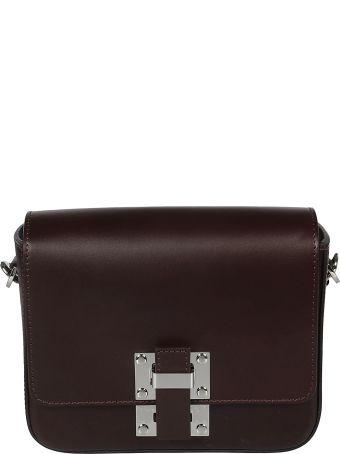 Sophie Hulme Buckled Boxy Shoulder Bag