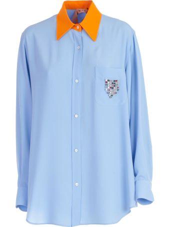 N.21 Crystal Embellished Shirt