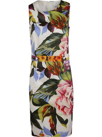 Blugirl Floral Print Short Dress