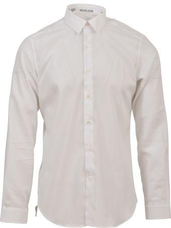 Vangher White Cotton Shirt