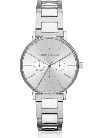 Armani Collezioni Armani Exchange Lola Stainless Steel Chronograph Women's Watch