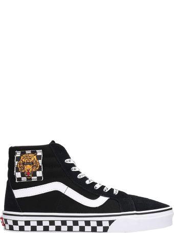 Vans Black Suede Sneakers