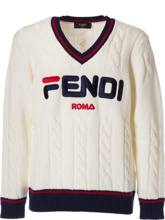 b4ca8dc0c49f Fendi Logo Sweater