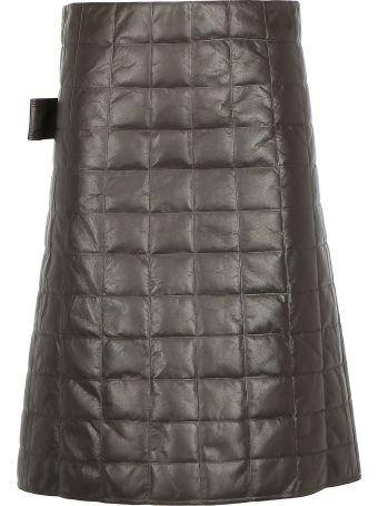 Bottega Veneta Nappa Matelassè Skirt