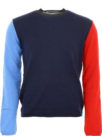 Comme des Garçons Shirt Color Block Pullover