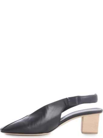 Del Carlo Closed Sandals W/hooded Wedge
