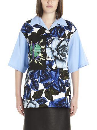 Prada 'roses & Heart' Shirt