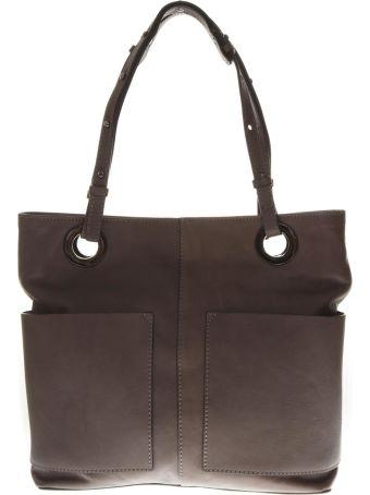 """Gianni Chiarini Beige Leather Bag """"athena"""""""