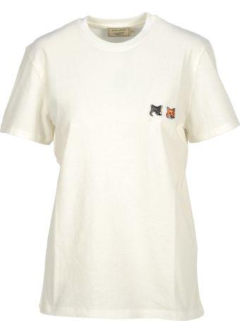 Maison Kitsuné Maison Kitsune Tshirt 2 Fox