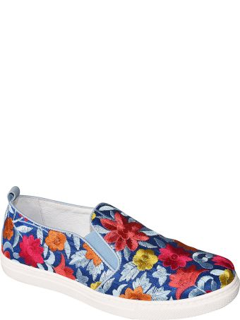 Shake Floral Embroidered Espadrillas