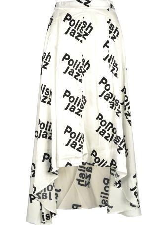 MISBHV Misbhv Polish Jazz Print Skirt