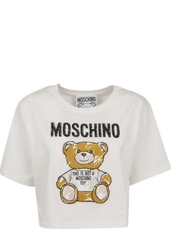 Moschino Cropped T-shirt