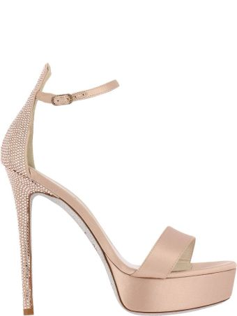 René Caovilla Rene Caovilla Heeled Sandals Shoes Women Rene Caovilla