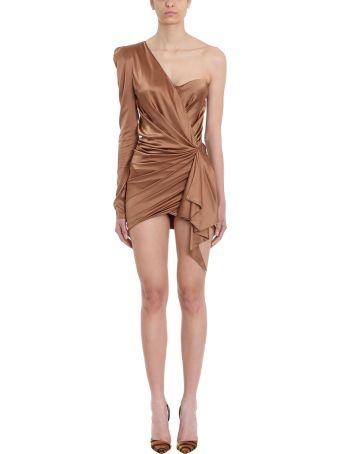 Alexandre Vauthier One-shoulder Satin Dress
