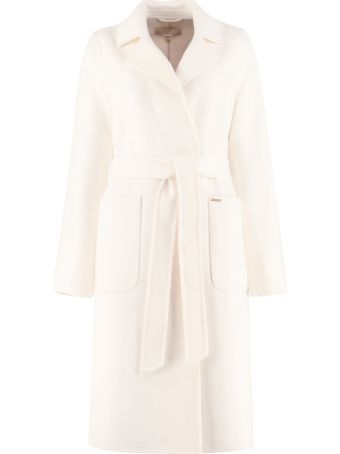 MICHAEL Michael Kors Wool Blend Coat