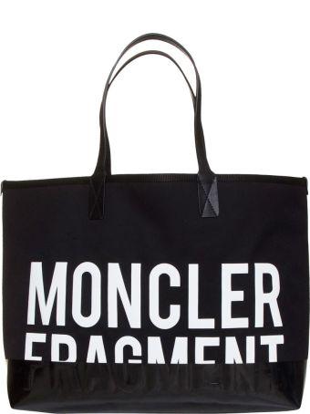 Moncler Genius 7 Moncler Fragment Hiroshi Fujiwara Shopping In Black