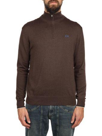 La Martina Zip Fastening Sweater