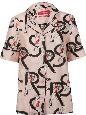 For Restless Sleepers Printed Shirt