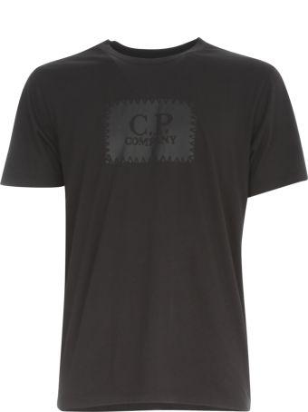 C.P. Company T-shirt S/s W/ Maxi Logo
