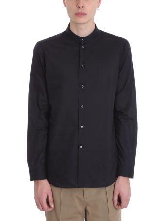 Alessandro Gherardi Black Cotton Shirt