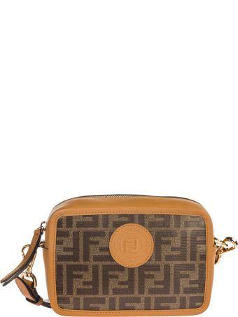 Fendi  Leather Cross-body Messenger Shoulder Bag