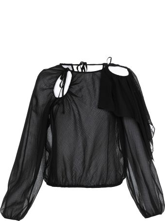 3.1 Phillip Lim Sheer Cotton Blouse
