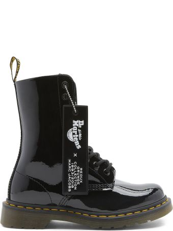 Marc Jacobs Dr Martens X Marc Jacobs Patent-leather Boots