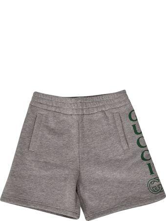 Gucci Kids Logo Shorts