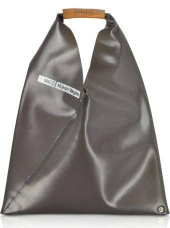 MM6 Maison Margiela Mm6 Maison Martin Margiela Charcoal Gray Pvc Japanese Tote Bag