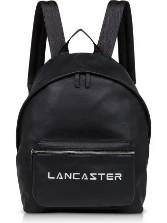 Lancaster Paris Street Black Backpack