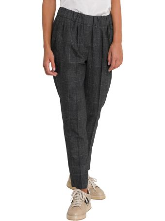 Brunello Cucinelli Prince Of Wales Trousers