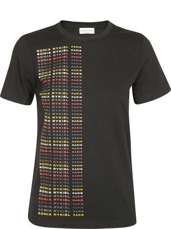 Sonia Rykiel Repeated Logo T-shirt